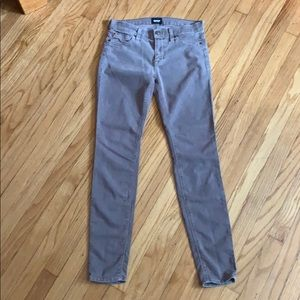 Hudson Nico Super Skinny Midrise Jeans  inseam 29'